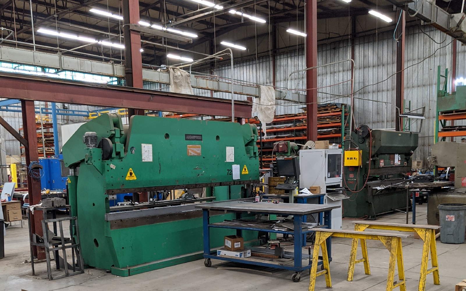 Accurpress 240 Ton Brake Press